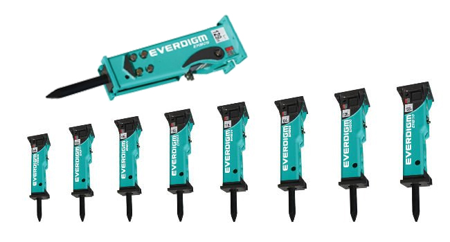 Everdigm-Hydraulic-breakers